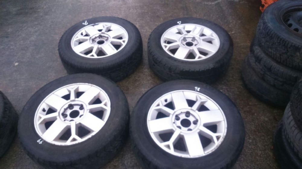 "RENAULT SCENIC RX4 1998 > 2003 16"" 4 STUD SET OF ALLOY WHEELS + TYRES - SALOMON"